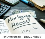 Mortgage Recast Reminder On The ...
