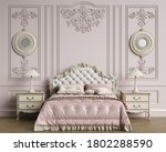 Classic Bedroom Interior With...