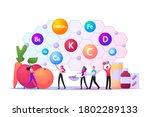 healthy food choice  vitamins... | Shutterstock .eps vector #1802289133