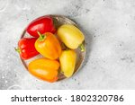 Red  Yellow And Orange Peppers...