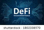 defi   decentralized finance ...   Shutterstock .eps vector #1802338570