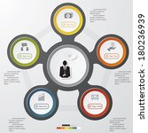modern business clean banners...   Shutterstock .eps vector #180236939