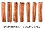 Collection Of Cinnamon Sticks...