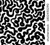 curly waves hand drawn seamless ... | Shutterstock .eps vector #1802450290