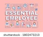 essential employee word...