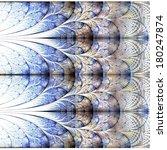symmetrical gold and dark blue... | Shutterstock . vector #180247874