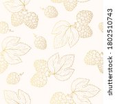 Golden Seamless Pattern With...