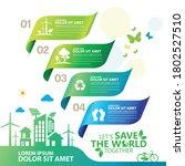 ecology.green cities help the... | Shutterstock .eps vector #1802527510