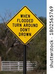 Sign For Flash Flooding...