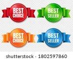 best choice labels set...   Shutterstock .eps vector #1802597860