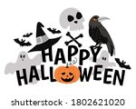 Vector Halloween Composition...
