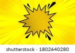 pop art comic background with...   Shutterstock .eps vector #1802640280