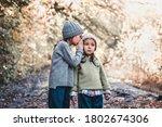 Little Girl Whispers A Secret...