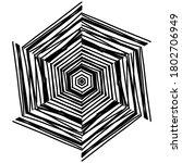 circular pattern in form of... | Shutterstock . vector #1802706949