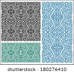 raster lace pattern  design... | Shutterstock . vector #180276410