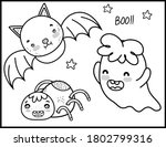coloring book page for... | Shutterstock .eps vector #1802799316