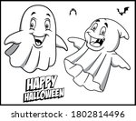coloring book page for... | Shutterstock .eps vector #1802814496
