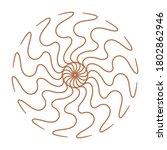 circular pattern in form of... | Shutterstock . vector #1802862946