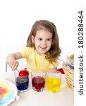 happy sweet  little girl... | Shutterstock . vector #180288464