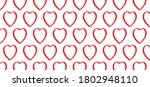 love banner with heart symbol.... | Shutterstock .eps vector #1802948110