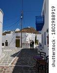 Plaka Village  Milos Island ...