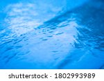 Blurred Images Of Water Surface ...