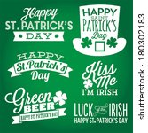 Happy St. Patrick\'s Day Vector...