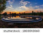 Modern Sewage Treatment Plant....