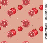 seamless pattern with... | Shutterstock .eps vector #1803054409