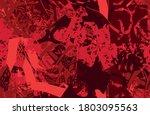 grunge red seamless. an... | Shutterstock .eps vector #1803095563