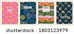 cover design with fruit  line ... | Shutterstock .eps vector #1803123979