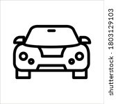 car icon on background. vector...