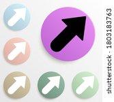 bold arrow badge color set....