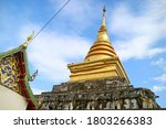 The Upper Part Of Wat Phra That ...