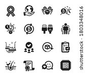 set of technology icons  such... | Shutterstock .eps vector #1803348016