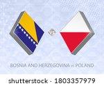 bosnia and herzegovina vs... | Shutterstock .eps vector #1803357979