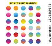 bright vibrant gradients set...