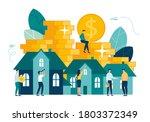 vector illustration  real... | Shutterstock .eps vector #1803372349