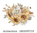 Vintage Fall Bouquet ...