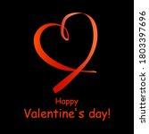 happy valentine's day  card... | Shutterstock .eps vector #1803397696