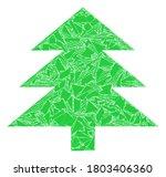 fraction mosaic fir tree icon.... | Shutterstock .eps vector #1803406360