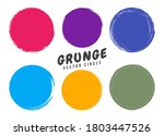 grunge circles  round shapes... | Shutterstock .eps vector #1803447526