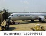 Airplane Being Preparing Ready...