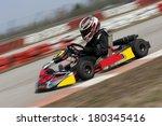 go cart driving fast | Shutterstock . vector #180345416
