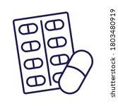 medicine capsules drugs seal...