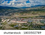 Aerial View of Silverthorne, Colorado