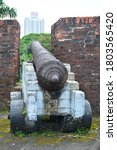 Old Cannon Ball Defense For War ...