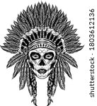 The Tattoo Illustration Of The...