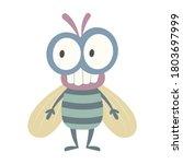 mayfly vector illustration... | Shutterstock .eps vector #1803697999