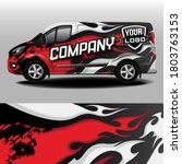 Van Car Wrapping Decal...